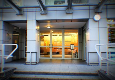 Southgate Road E2 office space – Building external