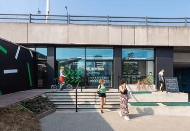 Dock Road E16 office space – Building external