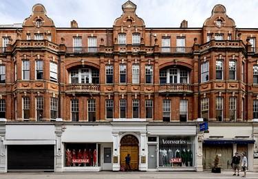 Mortimer Street W1 office space – Building external