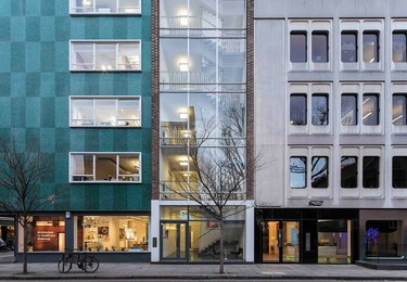 Whitfield Street W1 office space – Building external