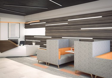 Queens Walk RG1 office space – Reception