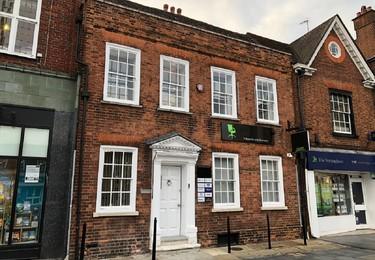 St Peter's Street AL1 office space – Building external