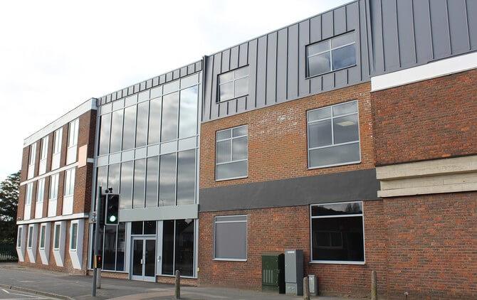 Castle Street PO14 - PO17 office space – Building External