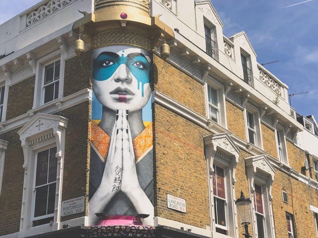 Portobello Road, Notting Hill, W11, London