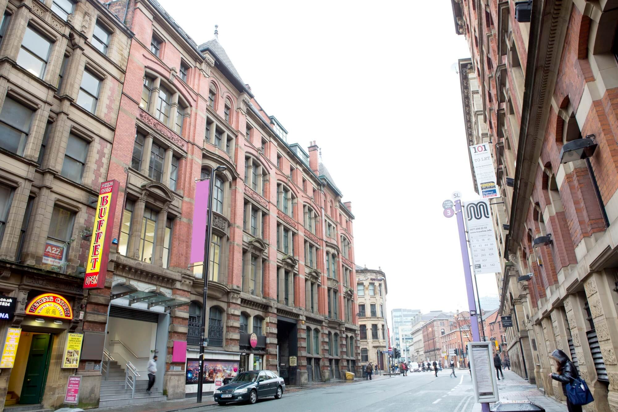 Princess Street, Manchester, M1, North West