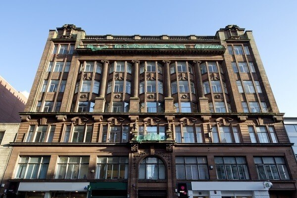 Queen Street, Glasgow, G1, Scotland