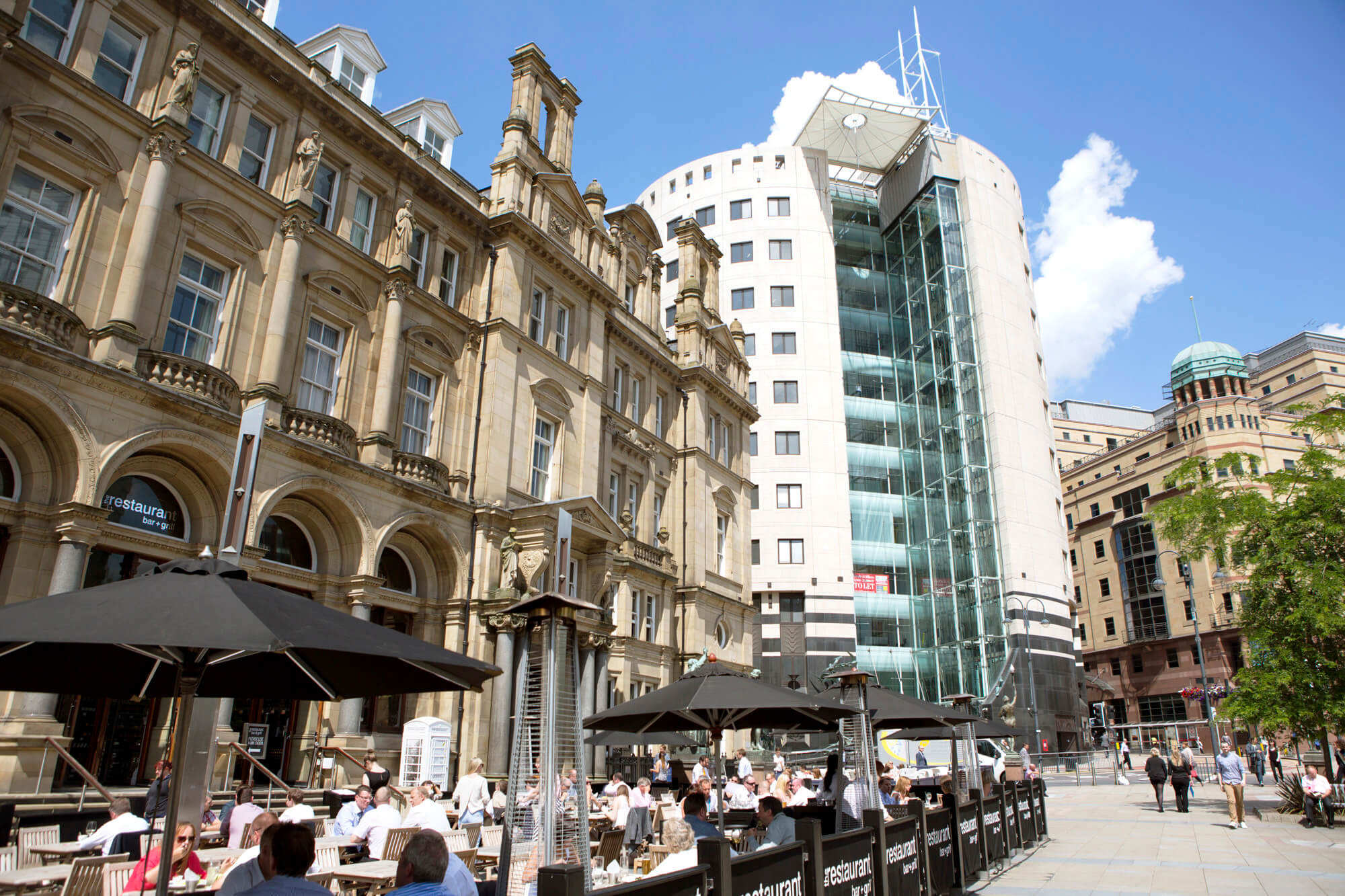 City Square, Leeds, LS1, Yorkshire And The Humber