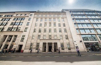 St Martin's Le Grand EC1 office space – Building External