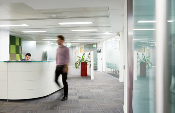 Ballards Lane N3 office space – Reception