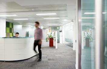 Ballards Lane office space – Reception