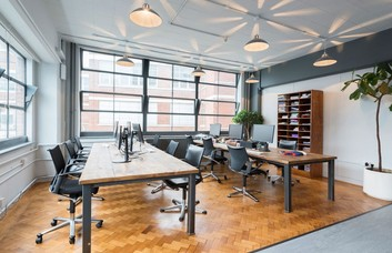 Bowling Green Lane EC1 office space – Private Office (different sizes available).