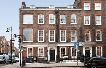 Church Row NW3 office space – Building External