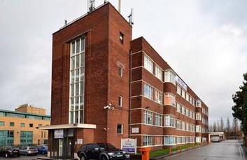 Bird Hall Lane SK8 office space – Building External