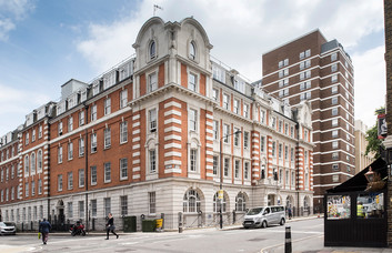 Mabledon Place WC1 office space – Building External