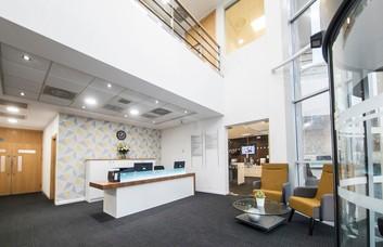Herald Way DE74 office space – Reception
