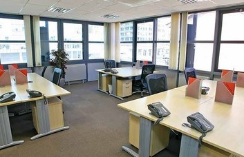 Admirals Way office space – Private Office (different sizes available).