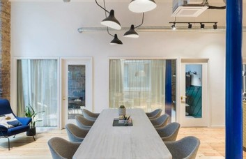 Greville Street EC1 office space – Meeting/Boardroom.