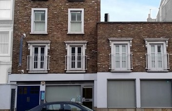 Harwood Road SW6 office space – Building External