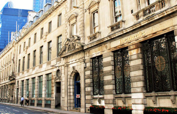 Threadneedle Street EC2 office space – Building External