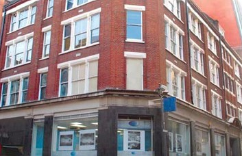 Ramillies Street W1 office space – Building External