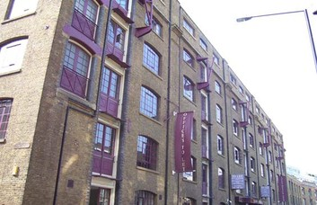 Back Church Lane E1, EC3 office space – Building External