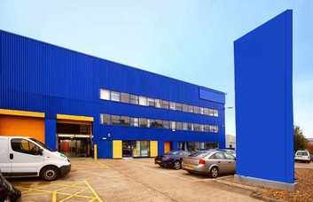 North Circular Road NW2 office space – Building External