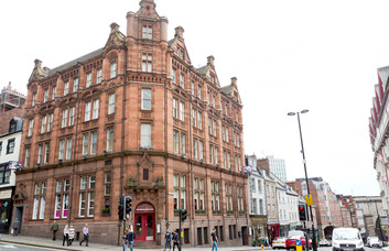 Mosley Street NE1 office space – Building External