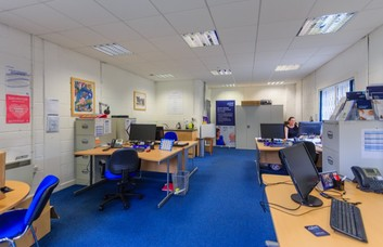 Harvest Road EH1 office space – Private Office (different sizes available).