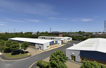 Orion Way NE29, NE30 office space – Building External