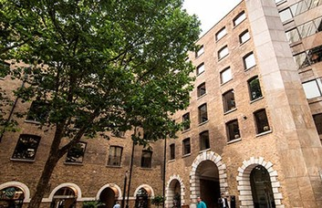 Devonshire Square EC2 office space – Building External