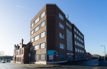 Monsall Road M1 office space – Building External