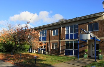 Heyford Park OX1, OX2 office space – Building External