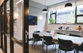 Kirby Street EC1 office space – Meeting/Boardroom.