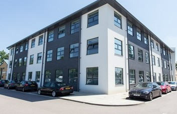 Bessemer Drive SG13 office space – Building External