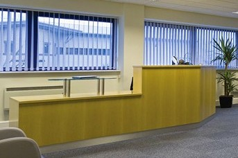 Ribble Court BB12 office space – Reception