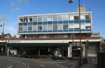 Gladstone Road SW19, SW20 office space – Building External