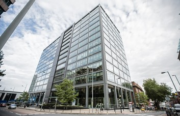 Colmore Circus B1 office space – Building External