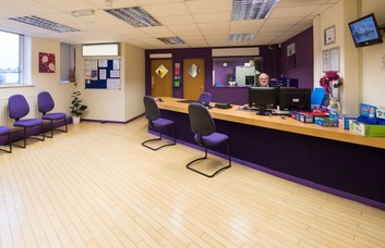 Kings Road B1 office space – Reception