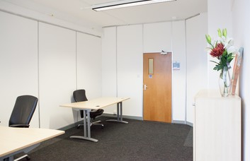 Cheney Manor Estate SN1 office space – Private Office (different sizes available).