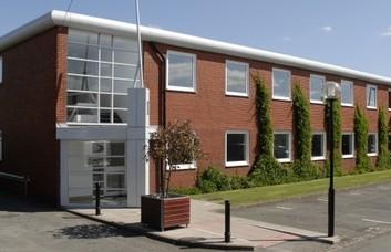 Dane Road M33 office space – Building External