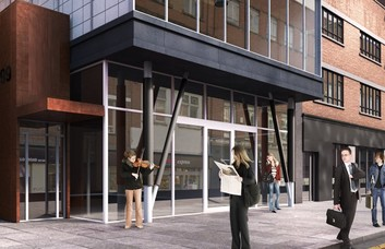 Waterloo Road SE1 office space – Building External