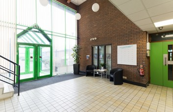 High Force Road TS1 office space – Foyer