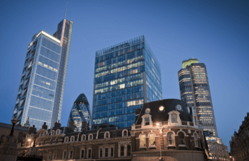 Old Broad Street EC2 office space – Building External