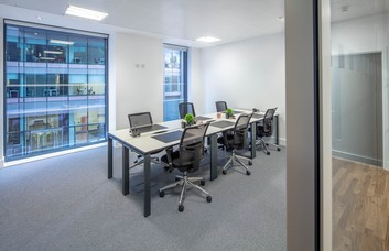 West Regent Street G1 office space – Private Office (different sizes available).