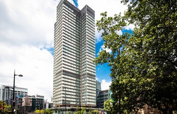 Euston Road NW1, W1 office space – Building External