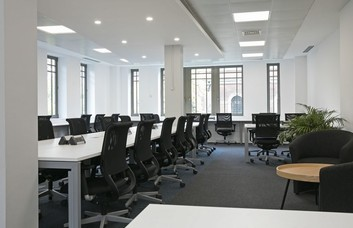 Wormwood Street EC2 office space – Private Office (different sizes available).