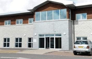 Kingseat Business Park AB21 office space – Building External