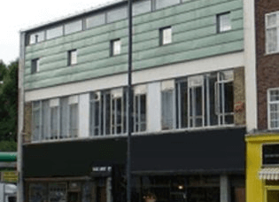 Finchley Road NW8 office space – Building External