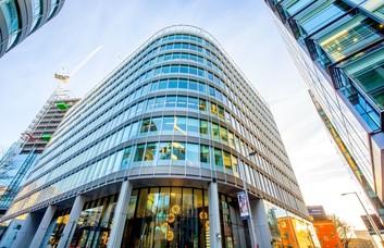 Hardman Square M1 office space – Building External