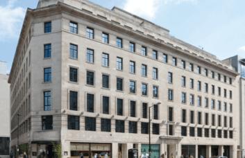 Regent Street W1 office space – Building External